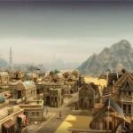 Eine orientalische Siedlung im Aufbau