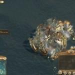 Eine Seeschlacht wird schnell unübersichtlich